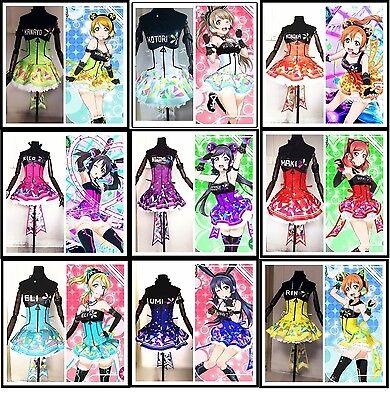 Love Live! Video Game Awakening Costume cosplay liminous dress headphone shoes