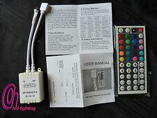 44 KEY IR REMOTE CONTROLLER BOX DC 12V FOR RGB LED 3528 5050 SMD STRIP LIGHTS