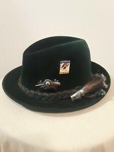Image is loading Vintage-Dobbs-Fifth-Avenue-Fedora-Hat cbeb397b92b