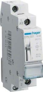 Hager-Stromstossschalter-230V-AC-1S-1-Schliesser-16A-Steuer-48V-AC-o-24V-DC