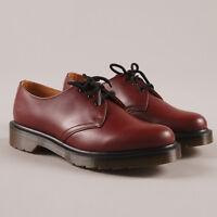 Dr Martens 1461 3 Hole Eyelet Mens Womens Unisex Smooth Leather Shoes UK 7 9