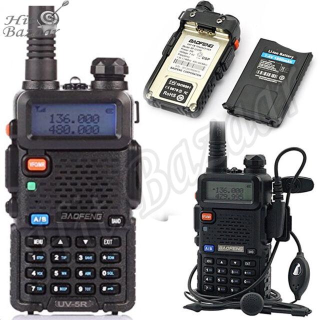 POLICE FIRE RADIO Two Way Scanner Transceiver Handheld Portable Digital Unit