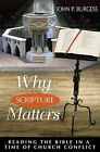 Why Scripture Matters: Reading the Bible in a Time of Church Conflict by John P. Burgess (Paperback, 1998)