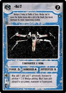 Star Wars CCG Reflections I VRF Very Rare Foil Red 5
