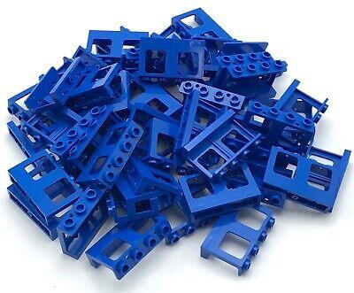 Lego ® ferrocarril ventana azul 1x4x3 4033 4034 tren vagón