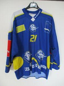 Maillot-hockey-LES-CASTORS-d-039-AVIGNON-porte-n-21-Rooster-shirt-M