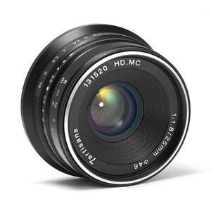 7artisans-25mm-F1-8-APS-C-Manual-Focus-Lens-For-Olympus-Micro-4-3-MFT-Mount