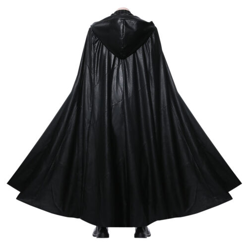 Star Wars 9 The Rise of Skywalker Kylo Ren Cosplay Costume Outfit Cape