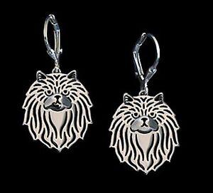 Persian-Cat-Earrings-Fashion-Jewellery-Silver-Plated-Leverback-Hook