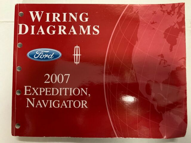 2007 Ford Expedition Lincoln Navigator Electrical Wiring