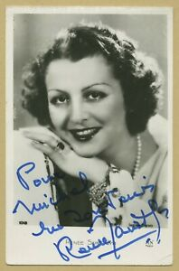 Renee-Saint-Cyr-1904-2004-Actrice-Photo-dedicacee-Coll-Michel-Clare