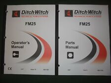 Ditch Witch Fm25 Fluid Mixing System Operation Maintenance Parts Manual Book