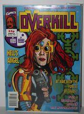 OVERKILL # 6  MARVEL UK COMIC MAGAZINE 3rd JULY  1992 DIGITEK- COM-778