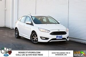 2017 Ford Focus SE / SPORT PKG / ACCIDENT FREE / BACK UP CAM / HEA