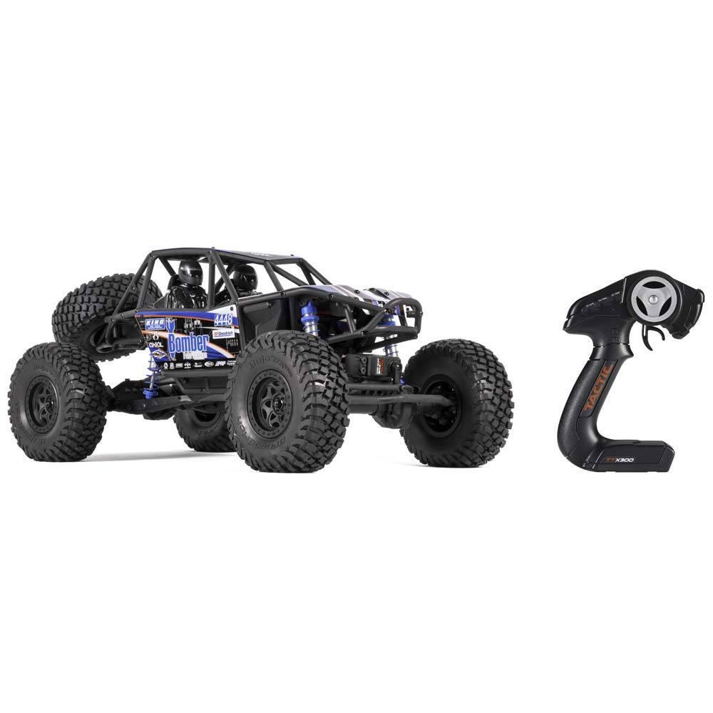 Axial Racing  Electric 4WD Rock Racer RR10 Bombardero listo para correr RC Crawler AX90048