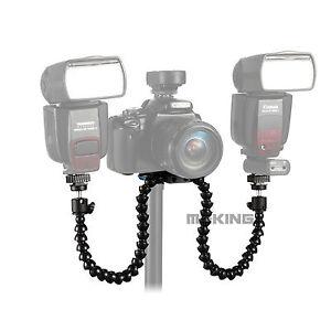 Octopods-Arm-Macro-Flash-Bracket-Mount-Holder-for-Canon-Nikon-Speedlite-Camera