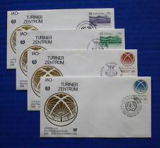 United Nations - 1985 ILO Turin Center FDC set