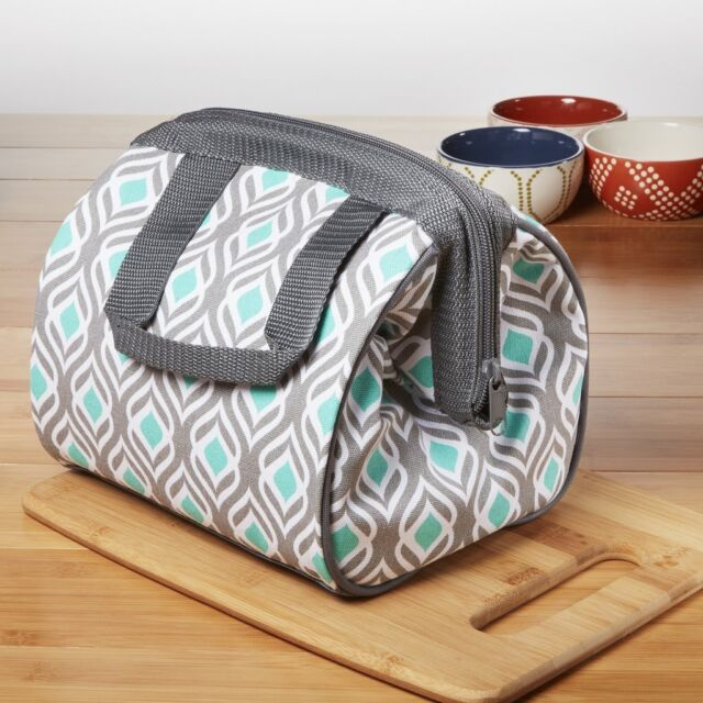 Fit Fresh Charlotte Insulated Lunch Bag For Women S With Ice Pack Ideal