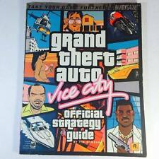 GTA Grand Theft Auto Vice City [Prima's Official Strategy Guide] Manual PS2