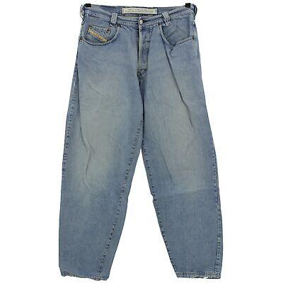 #4087 Diesel Jeans Uomo Pantaloni Old Saddle 726 Denim Blue Stone Blu 36/32-mostra Il Titolo Originale