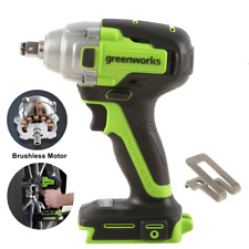 Greenworks 24v 12 Cordless Impact Wrench Brushless High Torque 540ft Lbs Us