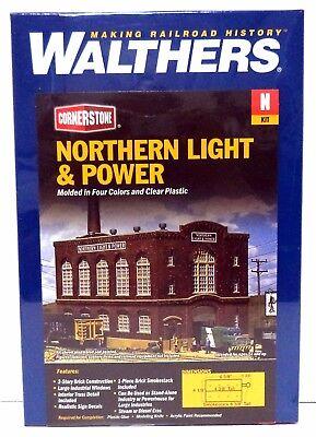 N Scale  Walthers Cornerstone Northern Light /& Power Powerhouse 933-3214