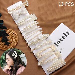 13Pcs-set-Pearl-Hair-Clip-Barrettes-2019-Fashion-for-Women-Hairpins-Accessory