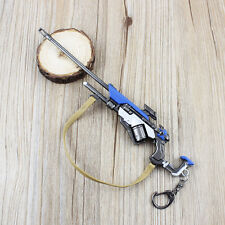 New Overwatch Classic Ana Weapon Model Keychain Key Ring Pendant Collect Gift