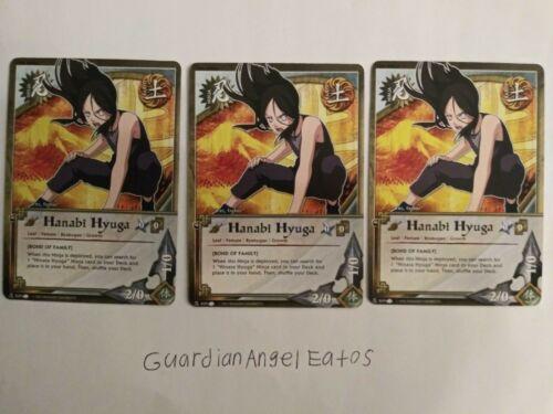 near mint Bond of Family Naruto TCG//CCG Hanabi Hyuga