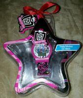 Monster High Freaky Fabulous Lcd Watch Mattel 2011 Unopened