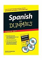 Spanish For Dummies Audio Set Free Shipping