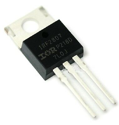 10PCS IRF2807PBF IFR2807 MOSFET N-CH 75V 82A TO-220 NEW