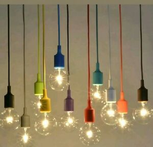 Liva e27 ceiling pendant lamp light bulb hanging holder black colour liva e27 ceiling pendant lamp light bulb hanging holder black colour by liva le aloadofball Image collections