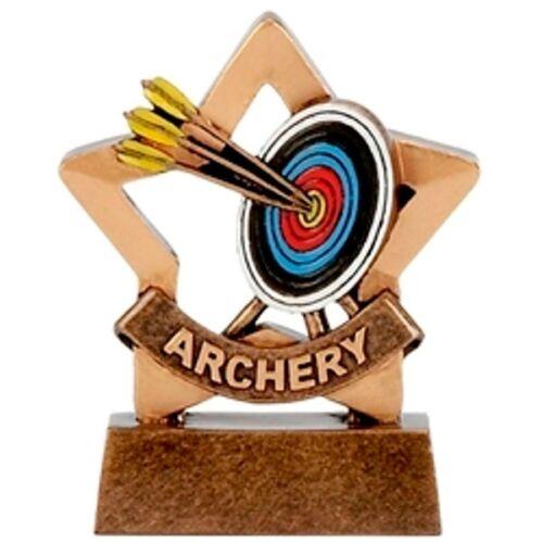 Archery MINI STAR TROPHY Bow Arrow Sights Targets quivers 8 cm a1106 GMS