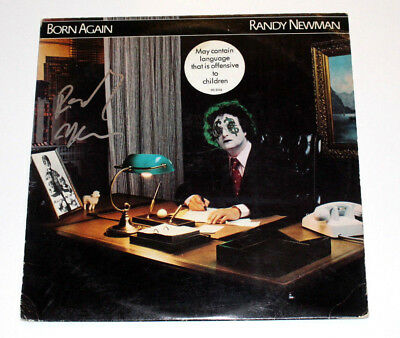 Randy Newman Signed Authentic 'born Again' Vinyl Record Album Lp W/coa Proof To Be Distributed All Over The World Autographs-original