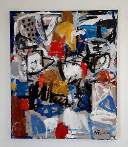 ALEXANDRE-PONS-Abstrait-contemporain-piece-unique-format-55x46-cm