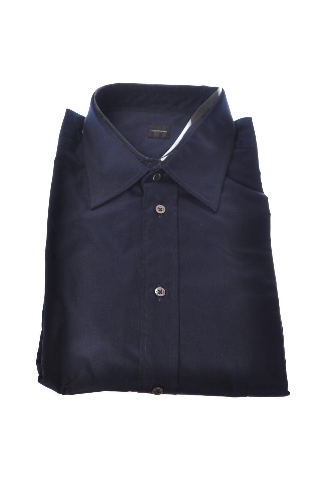 Mauro grifoni  -  Shirt - Male - Blau - 3002205A183730