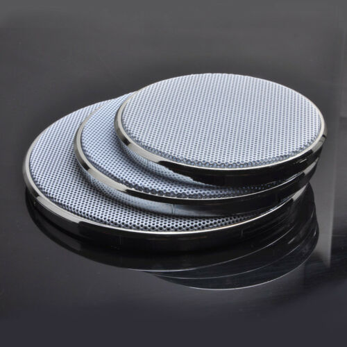 "1pc 1/""~8/"" inch Subwoofer Grill Speaker Cover Decorative Circle Metal Mesh Grille"