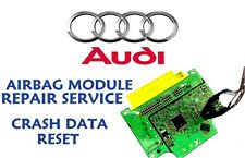 AUDI R8 2012 0285010631 AIRBAG SRS MODULE CRASH DATA RESET REPAIR SERVICE