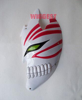 Half Bleach Ichigo Kurosaki Bankai Hollow Mask 1/2 Cosplay Props