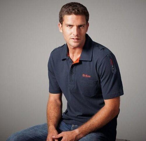 Kickers Navy Blue S Mens Polo Shirt T-Shirt BNWT Brand New Top Nwt Bn