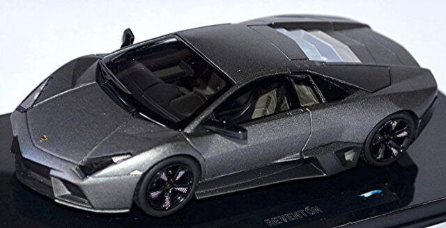 Lamborghini Reventon 2007-09 mat gris Gris Métallisé 1:43 Hot Wheels Elite