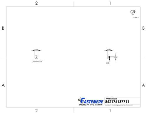 "8-32 x 1//4/"" Flat Head Socket Cap Screws Grade 8 Steel Black Oxide Qty 100"