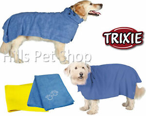 655b1884bf Image is loading Dog-Drying-Coat-Bathrobe-Towel-Easy-Dry-Ultra-