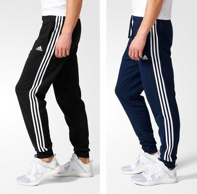 Picotear Derecho Solo haz  Adidas Essentials 3 Stripes Classic Fit Track Pants Black and Blue All  Sizes | eBay