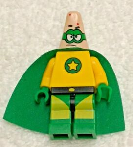 LEGO-SpongeBob-3815-Minifig-Patrick-Star-in-Superhero-Outfit-Great-Condition