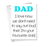 Funny-Rude-Fathers-Day-Cards-Humour-Cheeky-from-dog-Funny-cards-for-DAD-father thumbnail 31