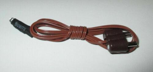 Kahlert-led 3mm 3,5 voltios blanco con cables y conectores-nuevo//en el embalaje original