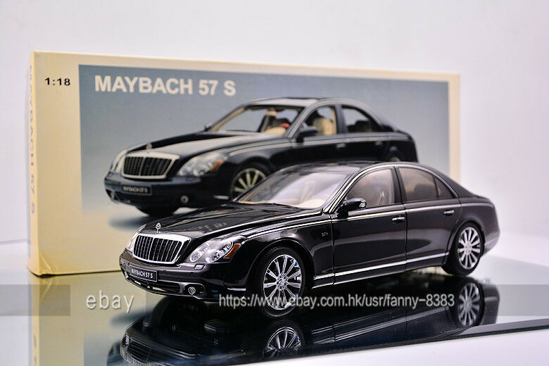 AUTOart 1 18 Maybach 57S black