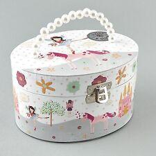 Hilo & Rock Hada y Unicornio Caja Musical De Niños Niñas Regalo Joyería Oval